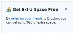 Get Extra Space Free